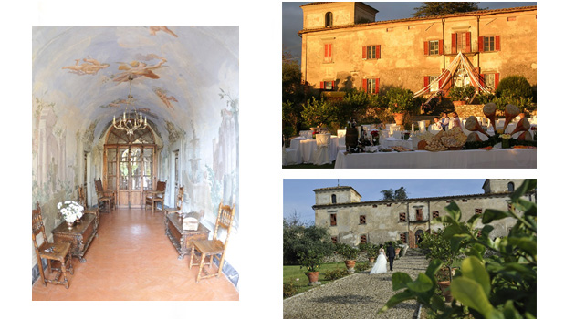 Villa  Medicea di Lilliano ヴィラ メディチェア リリアノ(メデイチ家別荘リリアノ)