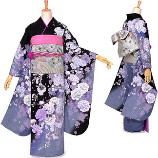着物モデルB:52000円 レンタル料金小物込