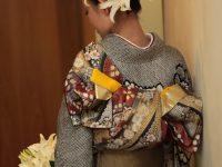 着物を着て、憧れのイタリアで「大和撫子撮影!」