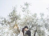 サントジェームス教会でのお二人だけのロマンチック挙式&トスカーナ田園撮影!