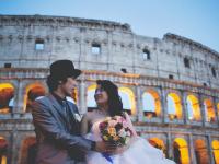 ロマンチック!映画「ローマの休日」の舞台「コロンナ宮殿」内での挙式