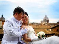 「永遠の都ローマ」で夕陽とナイトスポット撮影&セレモニーディナー