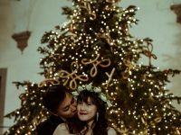 クリスマスのフィレンツェでウェディング撮影