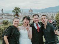 フィレンツェでご家族一緒にウェディング撮影